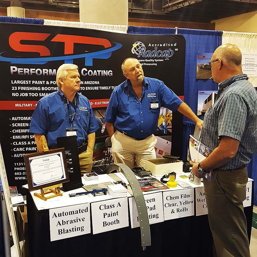 STP Performance Coating At Trade Show